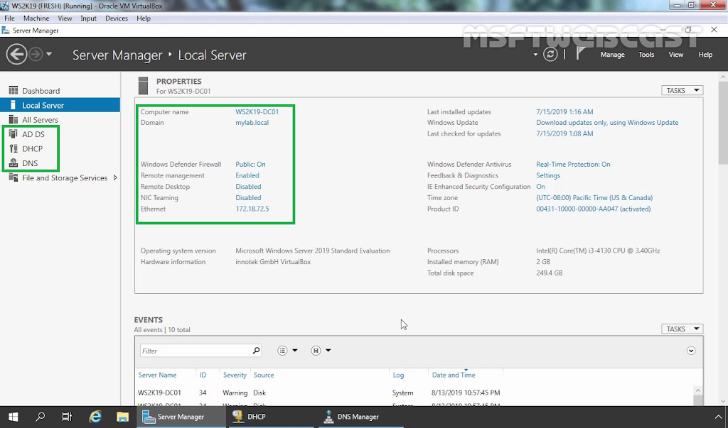 How to Install WDS role in Windows Server 2019 Part-1