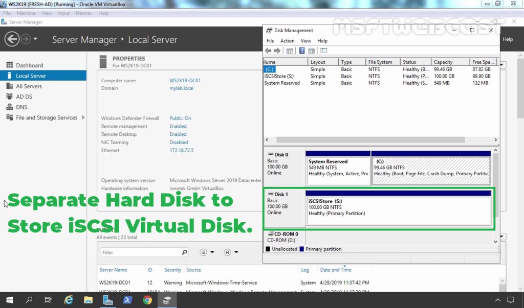 1.Disk Management