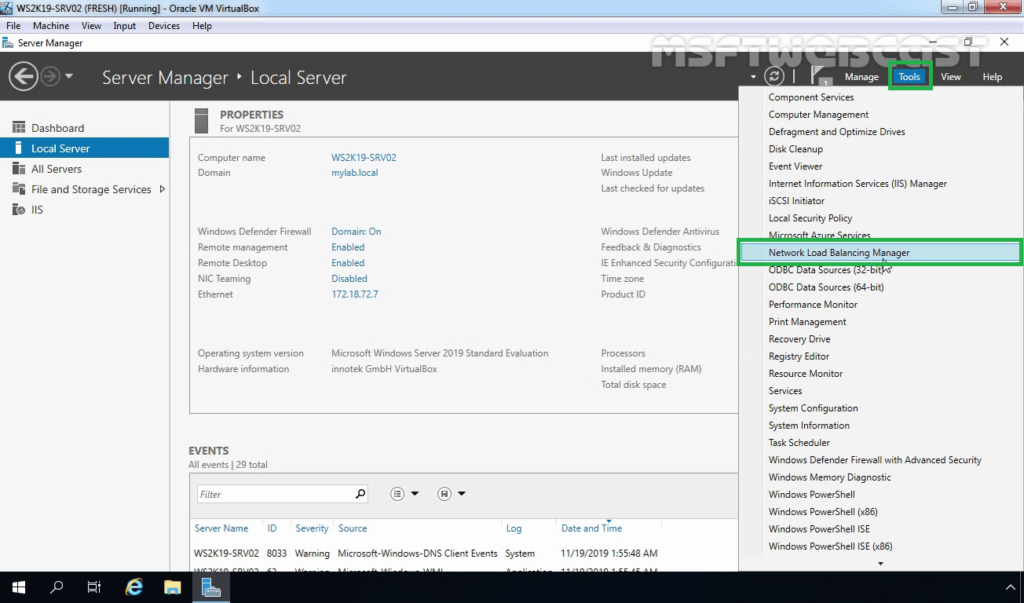 11. Open Network Local Balancing Manager