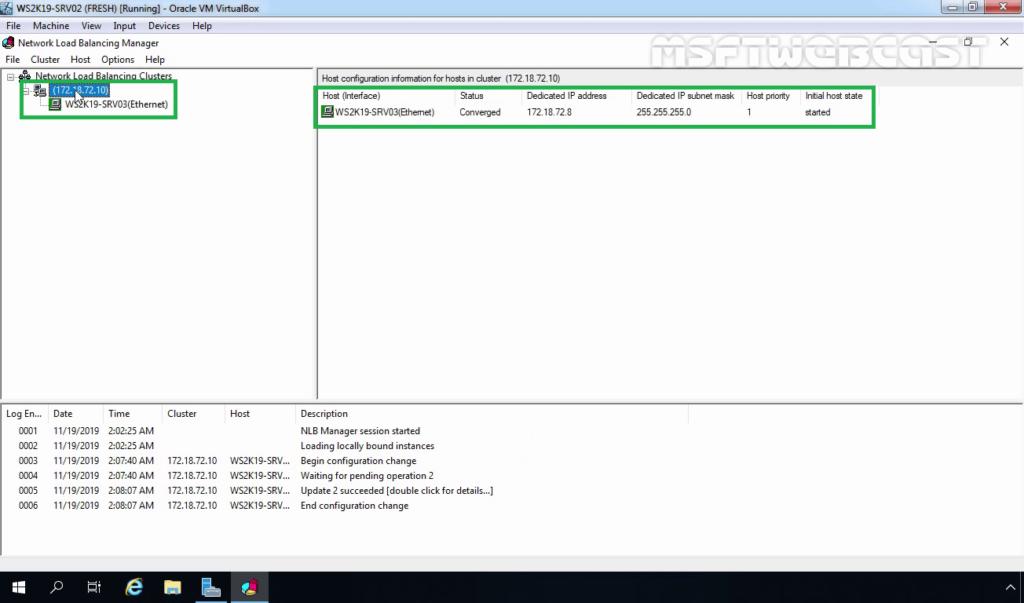 23. Verify NLB node Status