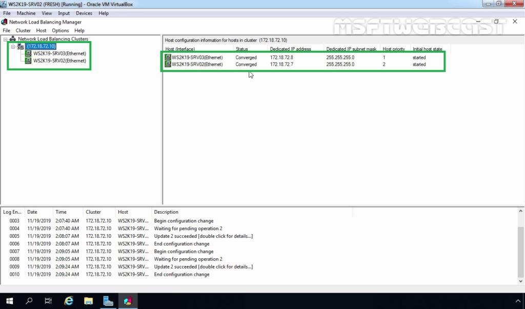 28. Verify NLB node Status