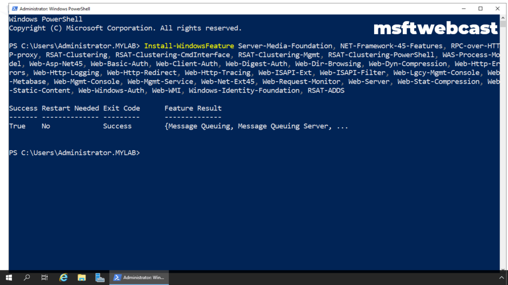 15. close powershell